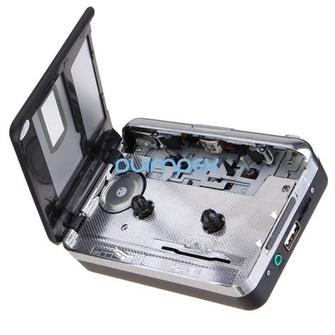 p02 kassette zu mp3 konverter ber usb stick rekorder tape to mp3 musik player ebay. Black Bedroom Furniture Sets. Home Design Ideas