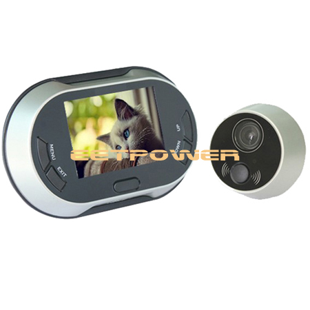 h03 digital t rspion kamera berwachungskamera tft monitor mit klingelanlagen ebay. Black Bedroom Furniture Sets. Home Design Ideas