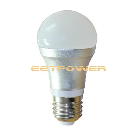 7w led birne lampe mit hf bewegungsmelder mw sensor 360 100 240v 480lm e27 3000k ebay. Black Bedroom Furniture Sets. Home Design Ideas
