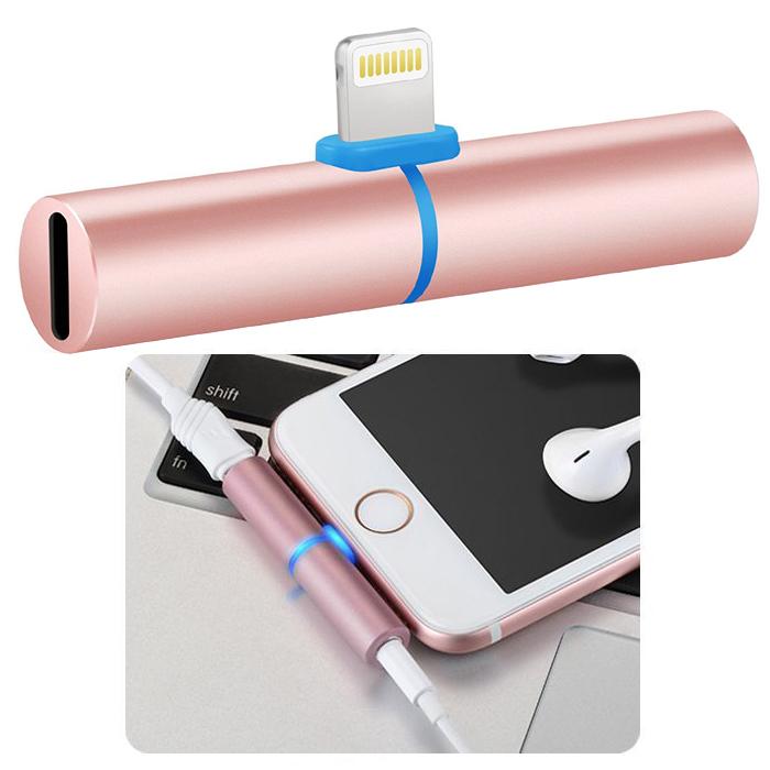 h55 lightning 8pin adapter kabel 3 5mm kopfh rer. Black Bedroom Furniture Sets. Home Design Ideas