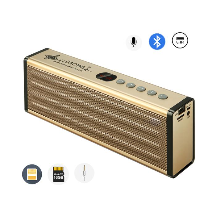 a23 20w bluetooth lautsprecher mikrofon mit tf usb slot aux in fm radio akku 6219590904078. Black Bedroom Furniture Sets. Home Design Ideas